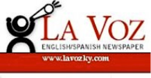 La Voz's logo, as found on its Facebook page at www.facebook.com/lavoz.newspaper